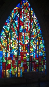 Callaway Garden Chapel stained glass, 16 March 2013